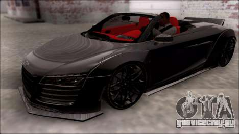 Audi R8 Spyder 5.2 V10 Plus LB Walk для GTA San Andreas