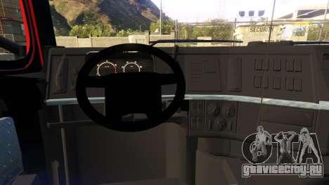 VOLVO FH для GTA 5 вид справа