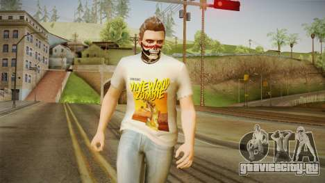 GTA 5 Halloween Skin 2 для GTA San Andreas