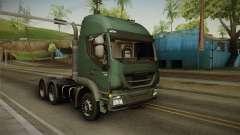 Iveco Trakker Hi-Land 6x4 Cab High v3.0 для GTA San Andreas