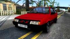 ВАЗ 2108 бордовый для GTA San Andreas