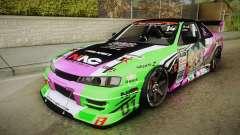 Nissan Silvia S14 D1GP Itasha