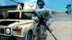 New Military USA Skin