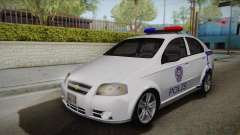 Chevrolet Aveo Turkish Police