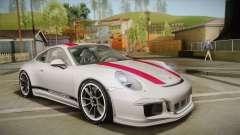 Porsche 911 R (991) 2017 v1.0 Red для GTA San Andreas