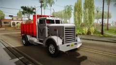 Peterbilt 351 Dump Truck для GTA San Andreas