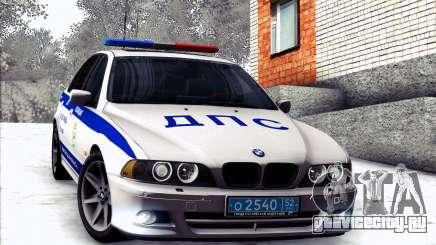 BMW E39 540i Russian Police для GTA San Andreas