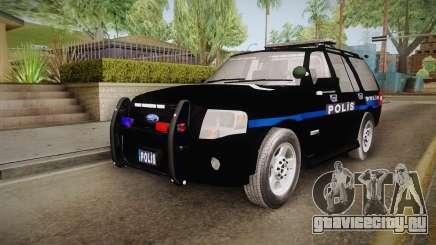 Ford Ranger Police для GTA San Andreas