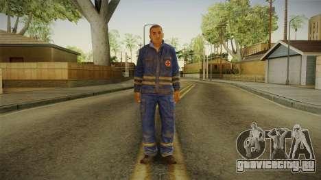 Medic DayZ v1 для GTA San Andreas второй скриншот