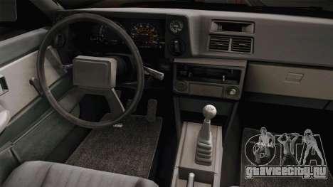 Toyota Corolla GT-S Monster Truck для GTA San Andreas вид изнутри