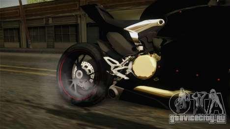 Ducati 1299 Panigale S 2016 Tricolor для GTA San Andreas вид изнутри
