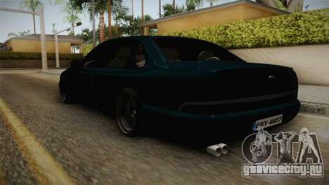 Ford Scorpio Mk2 V8 для GTA San Andreas вид сзади слева