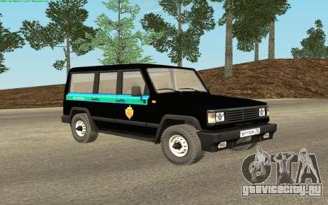 УАЗ 3170 ФСБ России v0.1 для GTA San Andreas