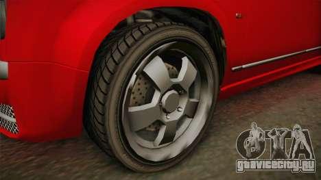 GTA 4 Schyster PMP600 для GTA San Andreas вид сзади