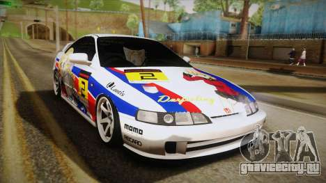 Honda Integra Tipe R Girl und Panzer Itasha для GTA San Andreas