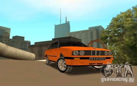 BMW E 30 для GTA San Andreas