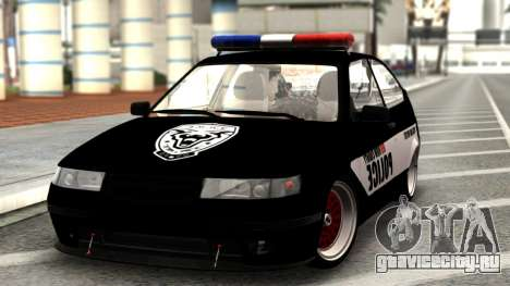 ВАЗ 2112 POLICE для GTA San Andreas