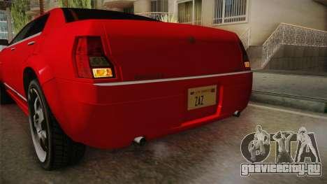 GTA 4 Schyster PMP600 для GTA San Andreas вид снизу