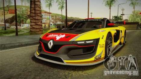 Renault Sport R.S.01 PJ1 для GTA San Andreas салон