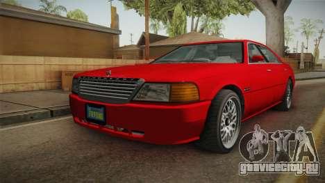 GTA 5 Dundreary Admiral Street для GTA San Andreas