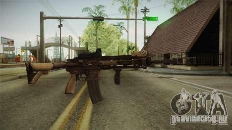 Battlefield 4 - HK416 для GTA San Andreas