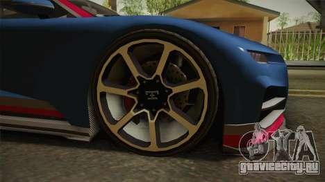 GTA 5 Truffade Nero для GTA San Andreas вид сзади