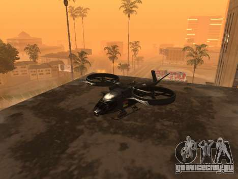 SA-2 Samson Armenian для GTA San Andreas вид сбоку