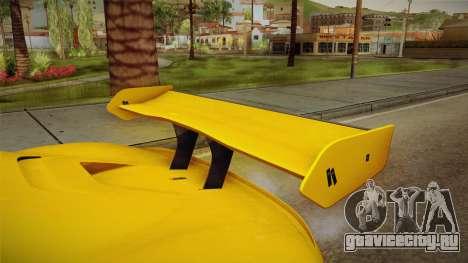Renault Sport R.S.01 PJ1 для GTA San Andreas вид сбоку