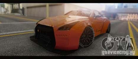 2015 Nissan GT-R R35 Liberty для GTA San Andreas