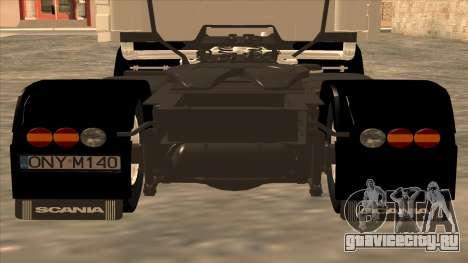 Scania 143M для GTA San Andreas вид сбоку