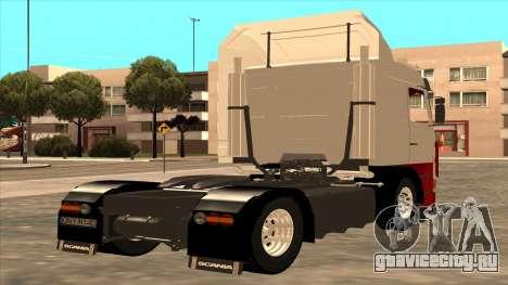 Scania 143M для GTA San Andreas вид сзади слева