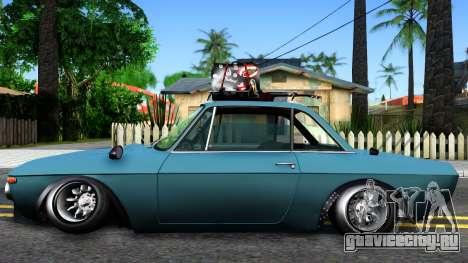 Lancia Fulvia для GTA San Andreas вид слева
