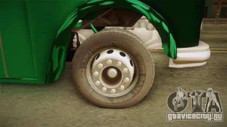 1114 (Bus) Recortado a Camion для GTA San Andreas вид сзади