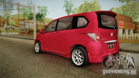 Honda Freed 2014 для GTA San Andreas вид слева
