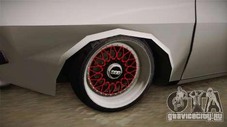 Dacia 1310 TX Low для GTA San Andreas вид сзади