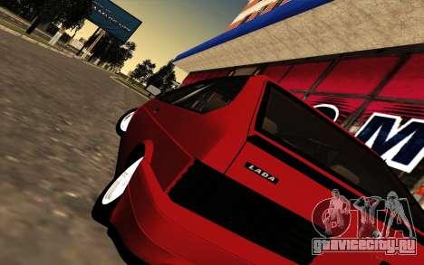 VAZ 21083i  American classic для GTA San Andreas вид сзади слева