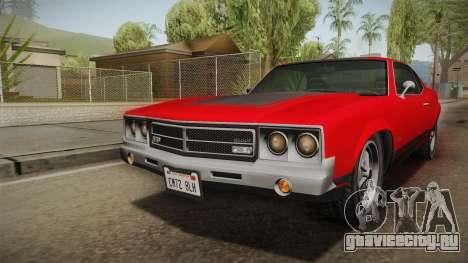 GTA 5 Declasse Sabre GT SA Style для GTA San Andreas