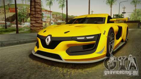 Renault Sport R.S.01 PJ1 для GTA San Andreas вид сзади слева
