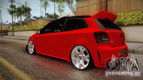 Volkswagen Polo Maskot для GTA San Andreas вид слева