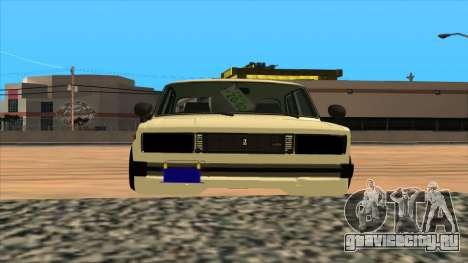 Lada 2105 для GTA San Andreas вид справа