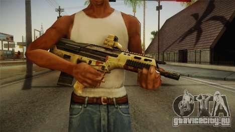 DesertTech Weapon 2 Camo для GTA San Andreas третий скриншот