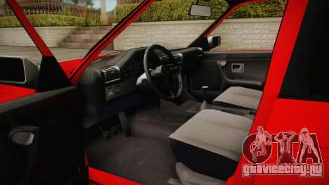 BMW 3 Series E30 Touring 3.8 BiTurbo для GTA San Andreas вид изнутри