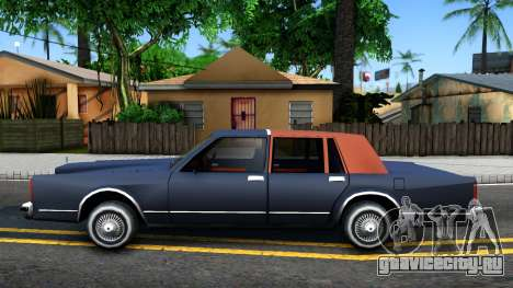 Lincoln Town Car 1981 для GTA San Andreas вид слева