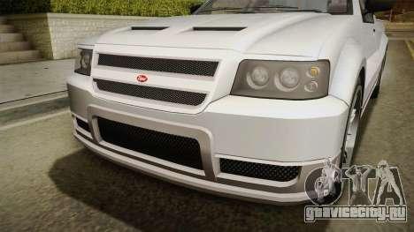 GTA 5 Vapid Contender 4 (5) IVF для GTA San Andreas вид изнутри
