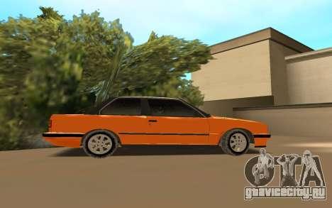 BMW E 30 для GTA San Andreas вид слева