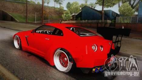 Nissan GT-R SR PRO для GTA San Andreas вид слева