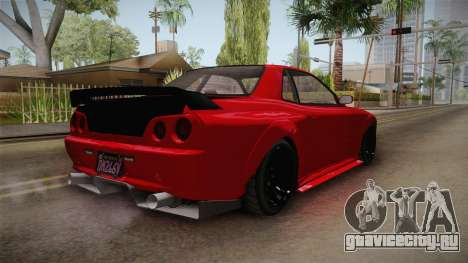 GTA 5 Annis Elegy Retro Custom IVF для GTA San Andreas вид сзади слева