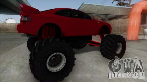 Toyota Celica GT-Four Monster Truck для GTA San Andreas вид слева
