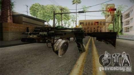 AK-47 with M203 для GTA San Andreas третий скриншот