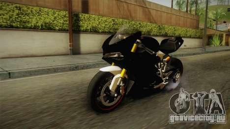 Ducati 1299 Panigale S 2016 Tricolor для GTA San Andreas вид сзади слева